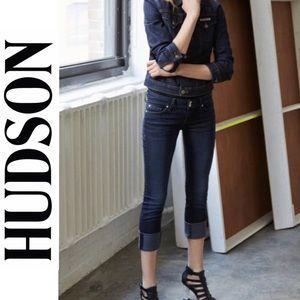 Hudson Ginny Crop Straight Leg w/Cuff